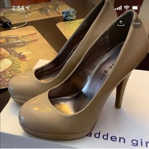 Madden girl heels brand new never worn no tags
